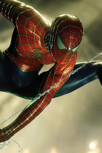 640x960 4k Spidermn Ps4