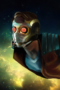 540x960 4k Star Lord Artwork