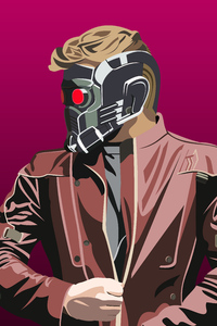 540x960 4k Star Lord Artwork New