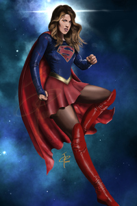 1242x2688 4k Supergirl New