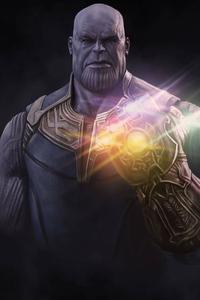480x854 4k Thanos