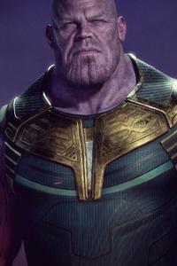 1080x1920 4k Thanos Art