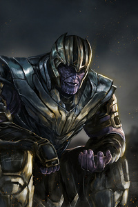 1080x1920 4k Thanos New Art
