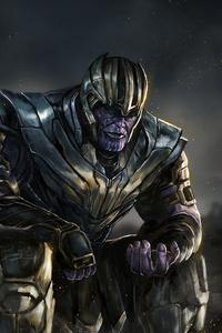 4k Thanos New Art