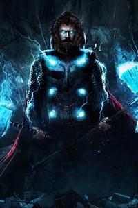 4k Thor In Avengers Endgame