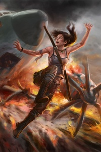 4k Tomb Raider Artwork