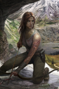 4k Tomb Raider Fanart