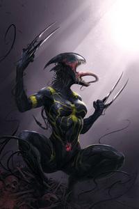 1280x2120 4k Venom Artwork