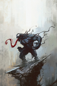 480x800 4k Venom Artworks New