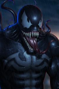 4k Venom Digital Art