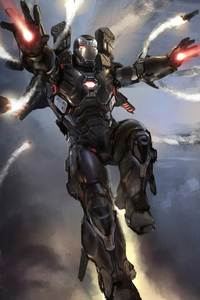 1080x1920 4k War Machine Art