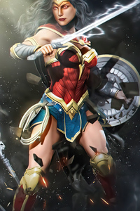 1080x1920 4k Wonder Woman Arts 4k