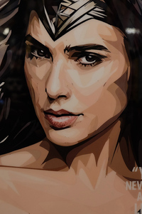 4k Wonder Woman Digital Art