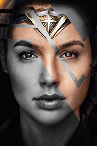 720x1280 4k Wonder Woman Justice League