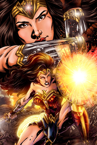 540x960 4k Wonder Woman New