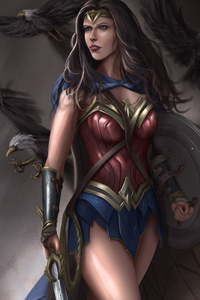 4k Wonder Woman Warrior