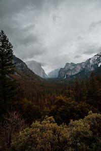 720x1280 4k Yosemite Landscape View