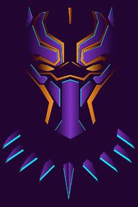 1080x2160 4kblack Panther Art