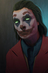 320x480 4kjoker Clown