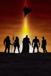 240x400 4kjustice League