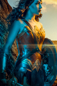 240x400 4kwonder Woman Cosplay