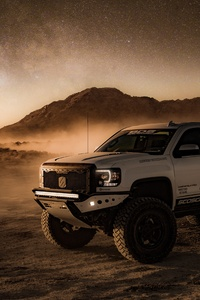4x4 Offroad Vehicle In Desert