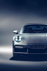 1242x2688 5k 2021 Porsche 911 Turbo S