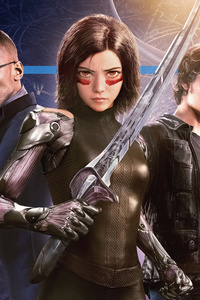 1080x2280 5k Alita Battle Angel 2019
