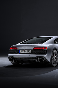 640x1136 5k Audi R8 V10 RWD Coupe 2019 Rear