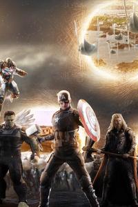 5k Avengers Endgame Final Battle Scene
