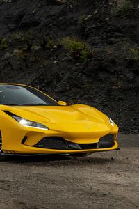 1125x2436 5k Ferrari F8 Spider 2020