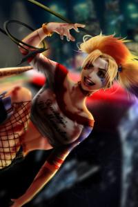 5k Harley Quinn
