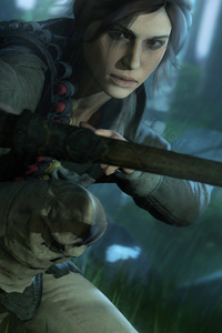 5k Lara Croft Tomb Raider Art