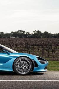 5k McLaren 720S Spider 2019 Side View