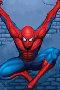 720x1280 5k Spiderman