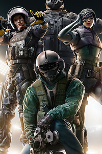 720x1280 5k Tom Clancys Rainbow Six Siege Game