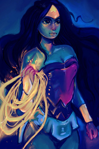 5k Wonder Woman