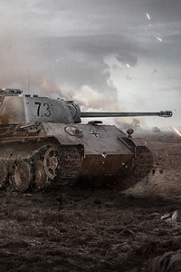 1080x2160 5k World Of Tanks