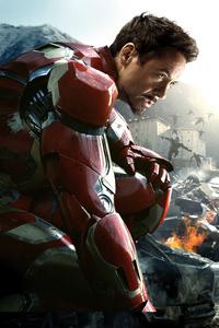 1080x1920 8k Iron Man