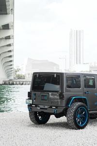 1440x2960 8k Jeep Wrangler