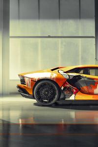 8k Lamborghini Aventador S 2019