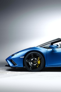 240x400 8k Lamborghini Huracan Evo Spyder 2020