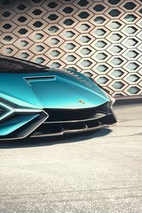 8k Lamborghini Sian Roadster 2020