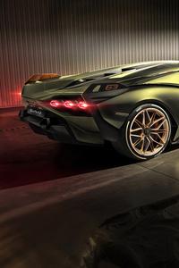 640x1136 8k Lamborghini Sian