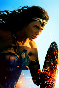 1080x2160 8k New Wonder Woman