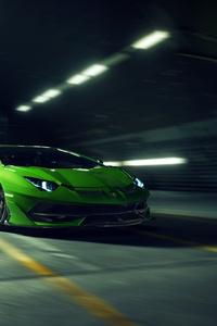 750x1334 8k Novitec Lamborghini Aventador SVJ 2019