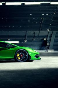750x1334 8k Novitec Lamborghini Aventador SVJ 2019 Side View