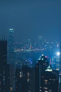 A City At Night 4k