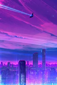 540x960 A Neon City