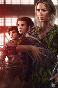 480x800 A Quiet Place Part II 2020 8k